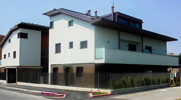 Nuovo edificio residenziale a Cornate d'Adda