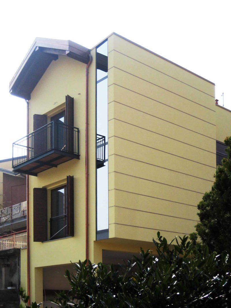Ristrutturazione di un edificio monofamiliare